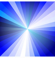 Blue Light Ray Abstract Background vector image vector image