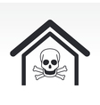 danger icon vector image vector image