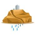 hajj pilgrimage silhouette move to arafat vector image vector image