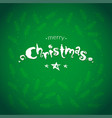 merry christmas cards with botanical elements vector image vector image