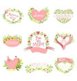 Mothers And St Valentine Day Greeting Cards vector image