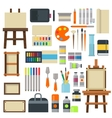 Set of art symbols vector image vector image