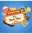 Cinema and Movie time vector image
