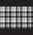 fabric texture diagonal black white plaid vector image vector image