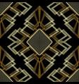 modern abstract geometric greek key meander vector image