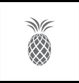 New abstract pineapple logo icon isolated