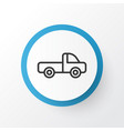 pickup icon symbol premium quality isolated vector image