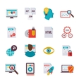 Programmer Icon Flat vector image