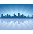 Sacramento California skyline vector image vector image