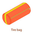 sport bag icon isometric 3d style vector image vector image