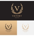 template of logo of boutique brand vector image