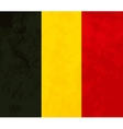 True proportions Belgium flag with texture vector image vector image
