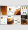 brown backgrounds and abstract concept vector image vector image