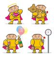 cartoon Valentines Day icon vector image vector image