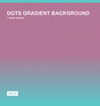 color gradient halftone background dots texture vector image vector image