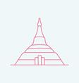 Naypyidaw vector image