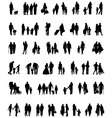 people which walk vector image vector image