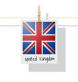 photo of united kingdom flag vector image