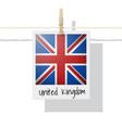 photo united kingdom flag vector image