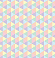 Polygon seamless background vector image vector image