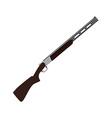 Skeet rifle vector image vector image