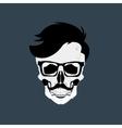 Skulls Grunge Dead vector image vector image