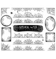 spider web dividers halloween spiderwebs vector image vector image