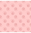 Spiral geometric seamless pattern vector image