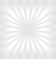 White rays on gray background Abstract background vector image