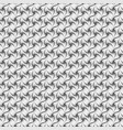 abstract geometric seamless pattern black and vector image