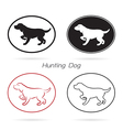 Dog Hunting vector image vector image