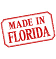 Florida - made in red vintage isolated label