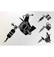 Grunge tattoo machines prints vector image