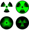signs radiation vector image
