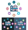 Smart House vector image vector image