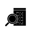 software development black concept icon vector image