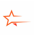 star logo icon vector image vector image