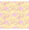 Art flower pattern vector image