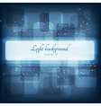 Abstract magic lights background Good template for vector image vector image