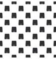 black soccer shorts pattern vector image vector image