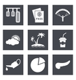 Icons for Web Design set 22 vector image