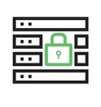 Secure Server vector image