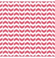 Tile pattern with pink arrows on white background vector image vector image