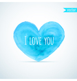 Watercolor heart for homosexual couples Valentines vector image vector image