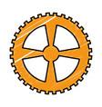 bike gear icon vector image