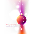 colorful christmas design vector image vector image