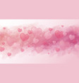 love concept and valentines day background design vector image