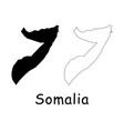 somalia map vector image vector image
