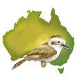 Wild bird in Australia vector image