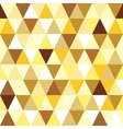 Abstract gold seamless triangle pattern vector | Price: 1 Credit (USD $1)